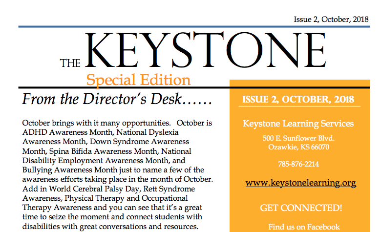 October Keystone Newsletter