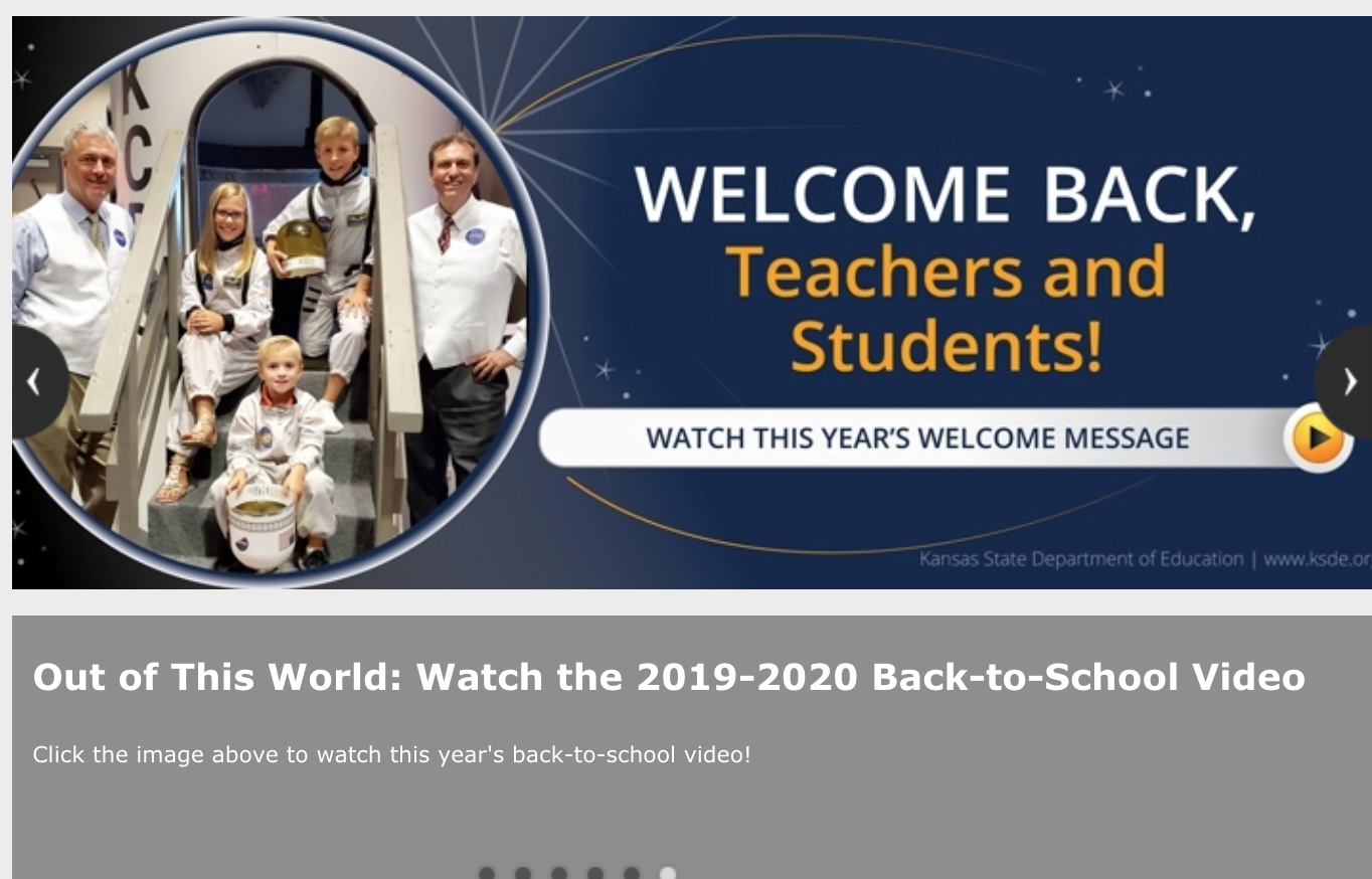 KSDE welcomes back Kansas Educators